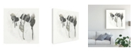 "Trademark Global June Erica Vess Monochrome Missive I Canvas Art - 15.5"" x 21"""