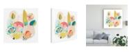 "Trademark Global June Erica Vess Floral Vibe II Canvas Art - 19.5"" x 26"""