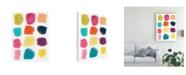 "Trademark Global June Erica Vess Vivid Windows II Canvas Art - 15.5"" x 21"""