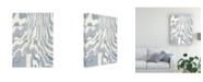 "Trademark Global Nikki Galapon Indigo Grain II Canvas Art - 27"" x 33.5"""