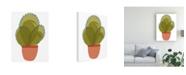 "Trademark Global Rob Delamater Mod Cactus I Canvas Art - 27"" x 33.5"""
