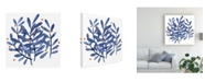 "Trademark Global Emma Scarvey Floral Canvas Art - 19.5"" x 26"""