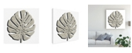 "Trademark Global June Erica Vess Cut Paper Palms I Canvas Art - 19.5"" x 26"""
