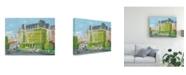 "Trademark Global Peter Snyder The Empress Canvas Art - 15.5"" x 21"""