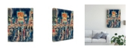 """Trademark Global Peter Potter New York Times Square Canvas Art - 36.5"""" x 48"""""""