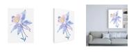 "Trademark Global Tim OToole Columbine Bloom II Canvas Art - 27"" x 33.5"""
