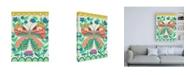 "Trademark Global Chariklia Zarris Flutterfly I Canvas Art - 15.5"" x 21"""
