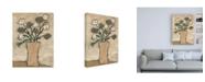 "Trademark Global Judi Bagnato Flowers from B II Canvas Art - 27"" x 33.5"""
