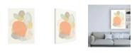 "Trademark Global June Erica Vess Abstract Succulents I Canvas Art - 15.5"" x 21"""