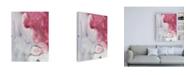 "Trademark Global Joyce Combs Magenta Dream II Canvas Art - 15.5"" x 21"""