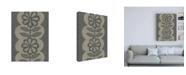 "Trademark Global Chariklia Zarris Paperwhite I Canvas Art - 15.5"" x 21"""