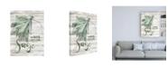"Trademark Global Jennifer Paxton Parker Green Witch III Canvas Art - 36.5"" x 48"""