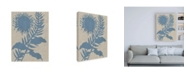 "Trademark Global Chariklia Zarris Dusk Botanical V Canvas Art - 27"" x 33.5"""