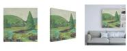 "Trademark Global Chariklia Zarris Rural Ramble II Canvas Art - 15.5"" x 21"""