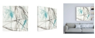 "Trademark Global Jennifer Goldberger Tendrils IV Canvas Art - 15.5"" x 21"""