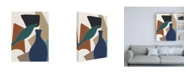 "Trademark Global Melissa Wang Mod Collage V Canvas Art - 27"" x 33.5"""