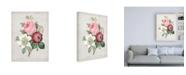 "Trademark Global Pierre Redoute Redoute Bouquet IV Canvas Art - 27"" x 33.5"""