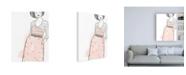 "Trademark Global June Erica Vess Fashion Sketches II Canvas Art - 27"" x 33.5"""