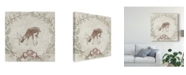 "Trademark Global June Erica Vess Cabin Christmas VI Canvas Art - 20"" x 25"""