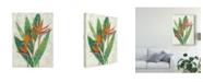 "Trademark Global Chariklia Zarris Paradise Vacation I Canvas Art - 37"" x 49"""