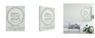 "Trademark Global Chariklia Zarris Breakfast Club I Canvas Art - 37"" x 49"""
