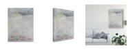 "Trademark Global Julia Contacessi White Blush I Canvas Art - 20"" x 25"""