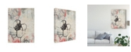"Trademark Global June Erica Vess Surface Tension II Canvas Art - 20"" x 25"""