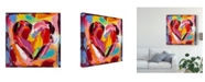 "Trademark Global Carolee Vitaletti Colorful Expressions I Canvas Art - 27"" x 33"""