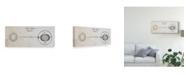 "Trademark Global Wild Apple Portfolio Geography of the Heavens Light VI Canvas Art - 15"" x 20"""