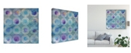"Trademark Global Danhui Nai Touching Circles II Canvas Art - 27"" x 33"""