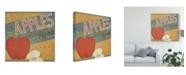 "Trademark Global June Erica Vess Farm Stand II Canvas Art - 27"" x 33"""