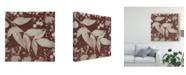 "Trademark Global Irena Orlov Botany Expressions III Canvas Art - 15"" x 20"""