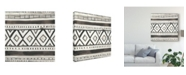 "Trademark Global June Erica Vess Tribal Echo III Canvas Art - 15"" x 20"""