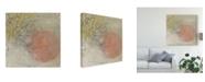 "Trademark Global June Erica Vess Coastal Cameo VIII Canvas Art - 27"" x 33"""