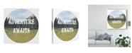 "Trademark Global Naomi Mccavitt Adventure Typography III Canvas Art - 27"" x 33"""
