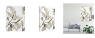 "Trademark Global June Erica Vess Block Print Contour I Canvas Art - 20"" x 25"""
