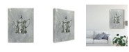 "Trademark Global Naomi Mccavitt English Silver II Canvas Art - 20"" x 25"""