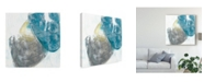 "Trademark Global June Erica Vess Stone Sweep I Canvas Art - 27"" x 33"""