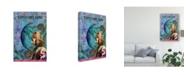 """Trademark Global Sandy Lloyd Moon Dance Gypsy Canvas Art - 37"""" x 49"""""""