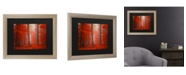 """Trademark Global Philippe Sainte-Laudy Speaking of Tongues Matted Framed Art - 37"""" x 49"""""""