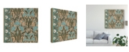 "Trademark Global Vision Studio Nouveau Textile Motif I Canvas Art - 20"" x 25"""
