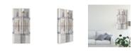 "Trademark Global Nikki Galapon Pinnacle I Canvas Art - 37"" x 49"""