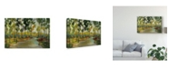 "Trademark Global Silvia Vassileva Path in the Forest Canvas Art - 15"" x 20"""