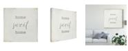 "Trademark Global Wild Apple Portfolio Home Sweet Home I Script Canvas Art - 15"" x 20"""