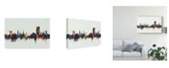 """Trademark Global Michael Tompsett Cheltenham England Skyline IV Canvas Art - 20"""" x 25"""""""