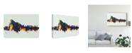 """Trademark Global Michael Tompsett Gibraltar Skyline IV Canvas Art - 20"""" x 25"""""""