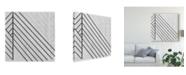 "Trademark Global June Erica Vess Diametric I Canvas Art - 27"" x 33"""