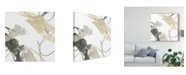 "Trademark Global June Erica Vess Monochrome Momentum IV Canvas Art - 15"" x 20"""