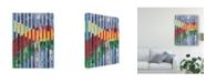 "Trademark Global Regina Moore Quilted Monoprints I Canvas Art - 37"" x 49"""