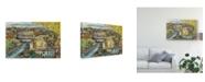 """Trademark Global Melissa Wang European Afternoon III Canvas Art - 20"""" x 25"""""""